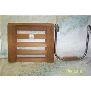 Boaters' Resale Shop of TX 1810 0422.75 SEATEAK 60918 SWIM PLATFORM & BRACKET