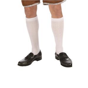 Colonial White Men's Knee Socks