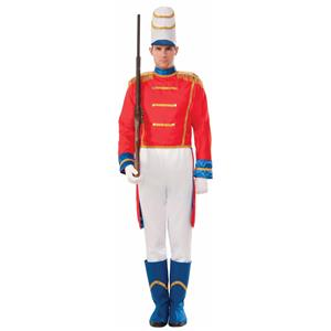 Toy Soldier Nut Cracker Christmas Adult Costume