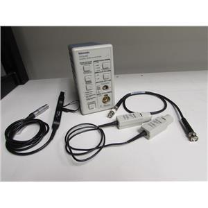 Tektronix TCPA300 wide range current probe amplifier, TCP312A probe, 012-1605-00
