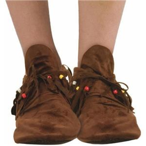 Adult Hippie or Native American Moccasins for Men size 9-12