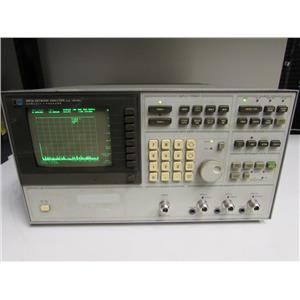 HP 3577A Vector Network analyzer, 5 Hz to 200 MHz