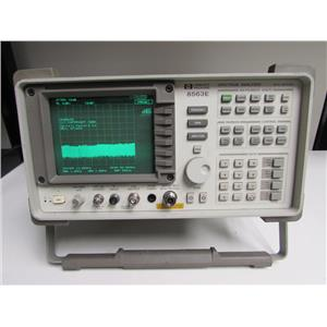 HP 8563E Spectrum Analyzer, 9kHz to 26.5GHz, type N
