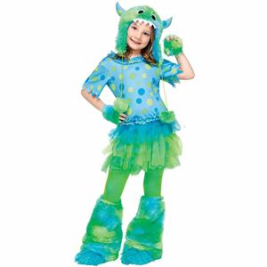 Monster Miss Child Girls Costume Size Large