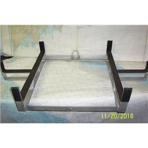 "Boaters' Resale Shop of TX 1702 0525.12 ALUMINUM LIFERAFT CRADLE 22.25"" x 36.5"""