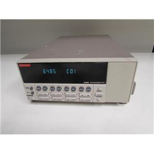 Keithley 6485 Single Channel 5.5 Digit Voltage Source Picoammeter