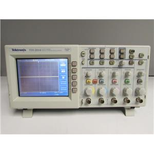 Tektronix TDS2014 OSCILLOSCOPE; DIGITAL STORAGE, 100 MHZ, 1 GS/S, 4-CH