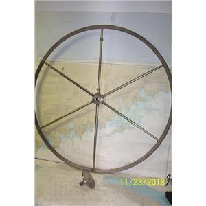 "Boaters Resale Shop of TX 1809 1051.01 YACHT SPECIALTIES 44"" STEERING WHEEL"