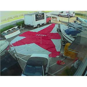 Tri-Radial Spinnaker w 44-10 Luff from Boaters' Resale Shop of TX 1808 0747.92