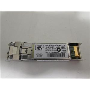 Cisco DWDM-SFP10G-61.41 Optical adapter, part number 10-2746-01, GENUINE