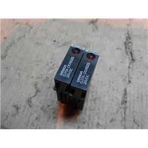 Omron G3TA-ODX02S 24VDC Relay *LOT OF 2*