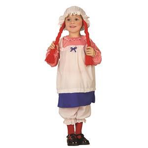 Lil' Rag Doll Girl Toddler Costume 2-4T