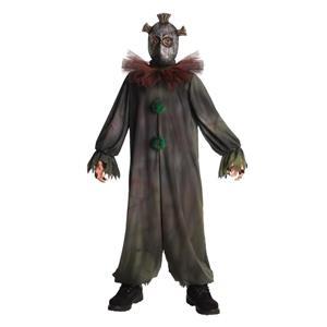Prankster Child Costume Medieval Evil Clown Medium 8-10