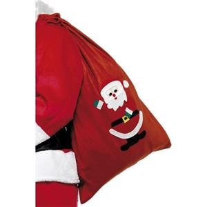 Santa Claus Red Santa Toy Sack Christmas Accessory