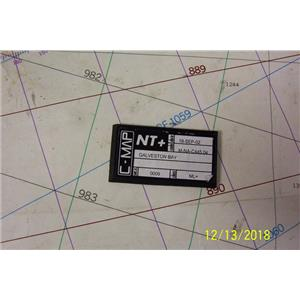 Boaters Resale Shop of TX 1810 0422.14 C-MAP NT+ M-NA-C445.04 GALVESTON CHART