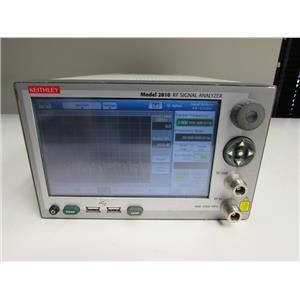 Keithley 2810 RF Vector Signal Generator 400 MHz to 2.5 GHz Opt 006