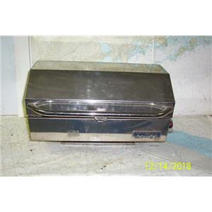"""Boaters Resale Shop of TX 1812 0422.04 MAGMA 9"""" x 18"""" PROPANE BBQ GRILL"""