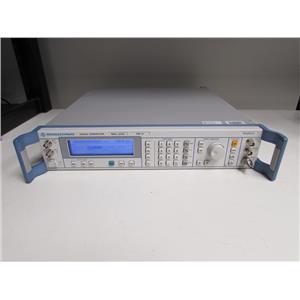 Rohde & Schwarz SMR 20 SMR20 Signal Generator Opt B11, B15