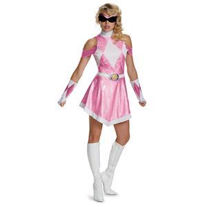 Sassy Pink Power Ranger Deluxe Costume Small 4-6