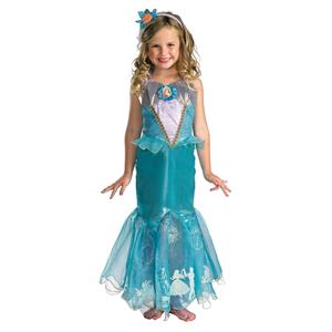 Disguise Storybook Ariel Prestige Costume Medium 7-8