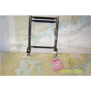 Boaters Resale Shop of TX 1811 2274.32 WINDLINE TT-3XFD 3 STEP TRANSOM LADDER