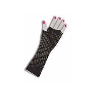 Forum Novelties 80's Long Neon Fishnet Gloves Costume Accessory