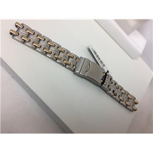 Freestyle Original WatchBand/Bracelet Unknown Model Two Tone Solid links.