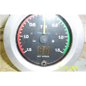 Boaters Resale Shop of TX 1901 254.64 DATAMARINE TP1 SPEED DISPLAY ONLY