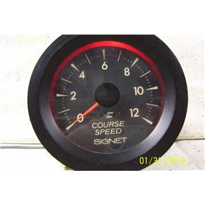 Boaters Resale Shop of TX 1901 2721.21 SIGNET MK42 COURSE SPEED DISPLAY & COVER