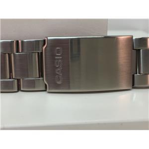 Casio Original WatchBand/Bracelet Number S-670L. Unknown Mod 22mm Curved End.