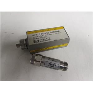 Agilent HP 8487D Power Sensor, 50 MHz to 50 GHz w/ 11708A