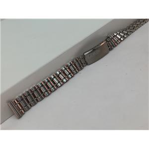 Seiko Original Watchband/Bracelet Ladies Unknown Model. 11mm Stainless Steel.