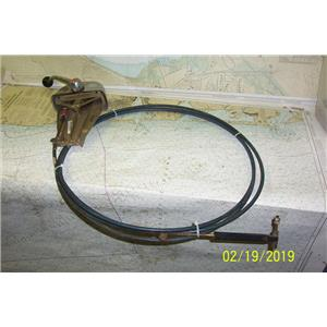 Boaters Resale Shop of TX 1902 0424.07 MORSE SINGLE HANDLE CONTROL W/ 16' CABLE