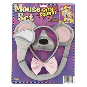 Mouse Costume Accessory Set with Sound