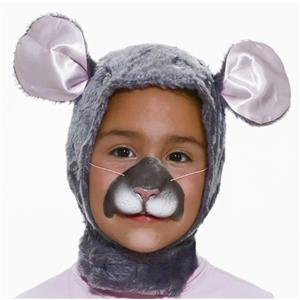 Forum Novelties Child Size Animal Costume  Mouse Hood and Nose Mask