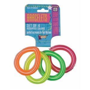 80's Neon Coil Bracelets