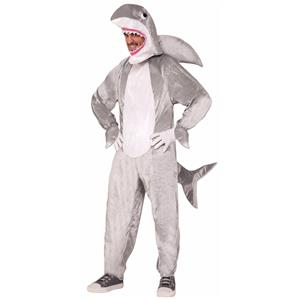 Shark Adult Mascot Fish Halloween Costume