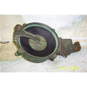 "Boaters Resale Shop Of Tx 1409 0103.25 LARGE BRONZE 10"" MANUAL BILGE PUMP"