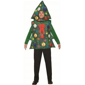 Christmas Tree Costume Adult Decorated Tree Tunic