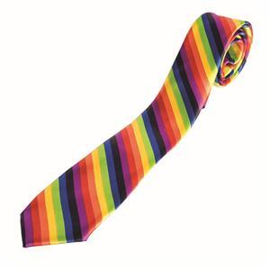 Rainbow Tie Gay Pride Suit Accessory