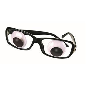 Wiggle Eye Glasses With Boggle Eyes Costume Glasses