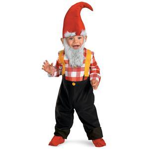 Garden Gnome Toddler Child Costume 12-18 Months