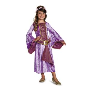 Renaissance Maiden Purple Girls Costume Size Large