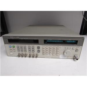 Agilent HP 83731A Synthesized Signal Generator, 20GHz Opt 102, 1E1, 1E5