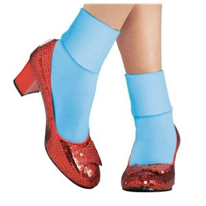 Dorothy Adult Ruby Slippers Costume Shoes Size Medium 7-8