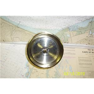 Boaters Resale Shop of TX 1902 0777.07 SETH THOMAS MODEL 1056 BAROMETER