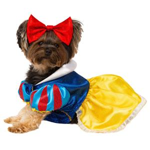 Snow White Princess Pet Dog Costume Dress Size Medium