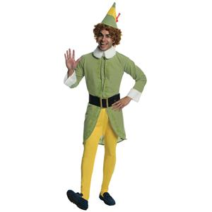 Buddy the Elf Movie Deluxe Adult Christmas Costume Size Standard