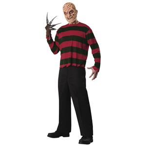 Freddy Krueger Economy Costume Sweater and Mask Size X-Large