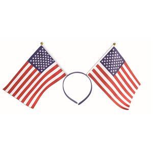 Forum Novelties Patriotic American Flag Red, White and Blue Headband